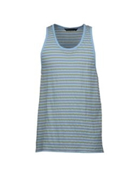 Marc By Marc Jacobs Sleeveless T Shirts Azure
