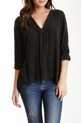 Rebel Yell Sixteen Blouse Black