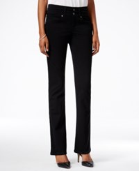 Styleandco. Style Co. Petite Deep Black Wash Bootcut Jeans Only At Macy's