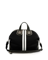 Men's Nightingale Neoprene Satchel Bag Black Givenchy Black White