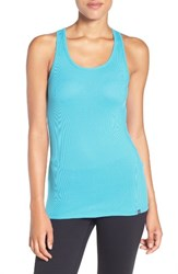 Under Armour Women's 'Victory' Heatgear Racerback Tank Venetian Blue Granite