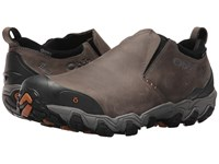 Oboz Big Sky Low Insulated Bdry Flint Gray Men's Shoes