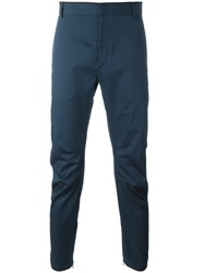 Lanvin Ankle Zip Trousers Blue