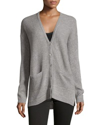 Joie Oversize Cashmere Blend Sweater Heather Gray