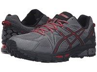 Asics Gel Kahana 8 Shark Black True Red Men's Running Shoes Gray