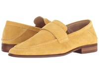 Sam Edelman Ethan Mustard Cow Suede Leather Women's Shoes Yellow