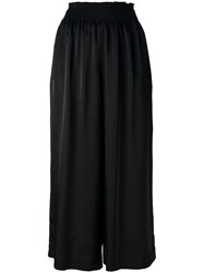 Forte Forte Cropped Palazzo Pants Black