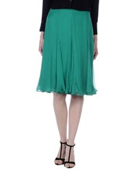 Ralph Lauren Black Label Skirts Knee Length Skirts Women Green