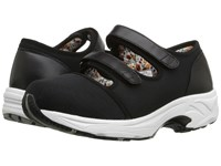 Drew Shoe Solo Black Sport Mesh Women's Hook And Loop Shoes