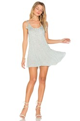 Free People Just Watch Me Slip Dress Blue