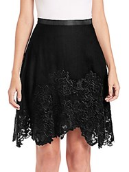 Elie Tahari Connie Skirt Black