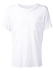 Nsf Chest Pocket T Shirt White