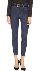 Levi's Mile High Super Skinny Crop Jeans Lunar Rinse