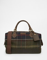 Barbour Locky Explorer Holdall Green