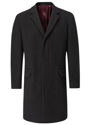 Skopes Pimlico Overcoat Black