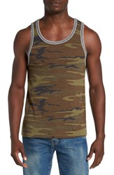Alternative Apparel Men's Double Ringer Tank Top