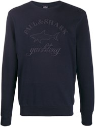 Paul And Shark Embroidered Logo Jumper 60