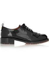 Valentino B Formal Patent Leather Brogues