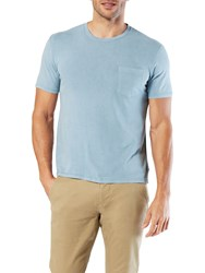 Dockers Essential T Shirt Mock Blue