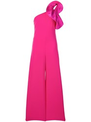 Aniye By Asymmetric Ruffle Detail Jumpsuit Pink