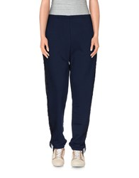 Cycle Trousers Casual Trousers Women Dark Blue