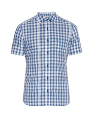 Burberry Short Sleeved Checked Cotton Shirt