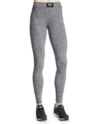 Heroine Sport Performance Moisture Wicking Sport Leggings Heather Gray