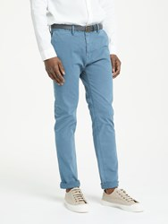 Scotch And Soda Classic Garment Dyed Chinos Steel
