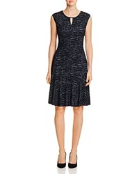 Nic Zoe And Tweed Jacquard Dress Multi