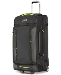 High Sierra At8 32 Wheeled Upright Duffel Bag Black