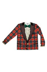 Men's Faux Real 'Christmas Tuxedo' Novelty Graphic T Shirt