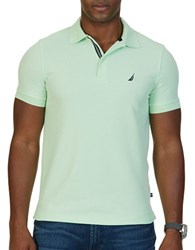 Nautica Solid Slim Fit Polo Patina Green