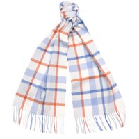 Barbour Women's Country Plaid Scarf Pink Plaid
