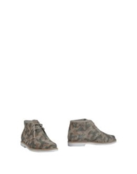 Studio Pollini Shoe Boots Military Green