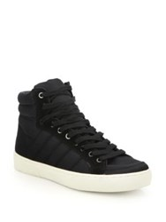 Saks Fifth Avenue Quilted High Top Sneakers