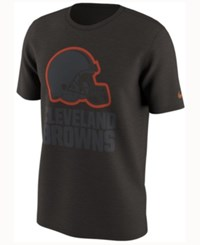 Nike Men's Cleveland Browns Color Rush Travel T Shirt