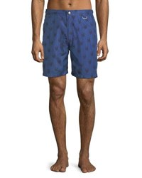 Peter Millar Black Jacks Bay Swim Trunks Navy