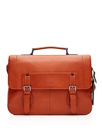 Ted Baker Miamore Color Block Leather Satchel Orange