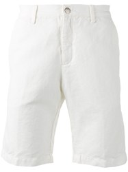 Massimo Alba Chinos Shorts White