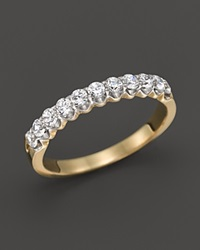 Bloomingdale's Diamond Band Ring In 14K Yellow Gold .50 Ct. T.W. White Gold