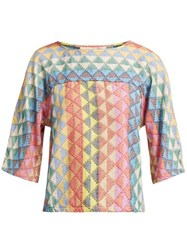 Ace And Jig Mae Cotton Top Multi