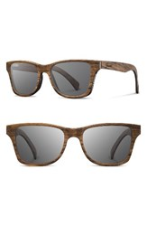 Shwood Men's 'Canby' 54Mm Polarized Wood Sunglasses