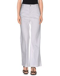 Prada Sport Denim Denim Trousers Women White
