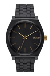 Nixon Men's 'The Time Teller' Stainless Steel Bracelet Watch 37Mm