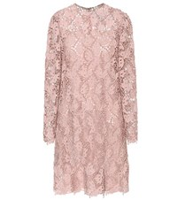 Valentino Lace Dress Pink