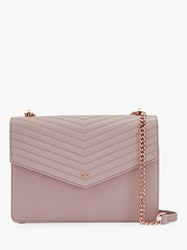 Ted Baker Kalila Leather Crossbody Bag Light Pink