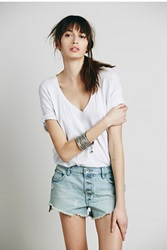 Free People Runaway Slouch Cut Off