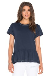The Great Ruffle Tee Navy