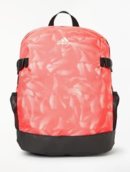 Adidas Power 4 Graphic Backpack Prism Pink