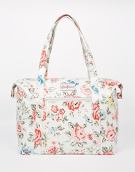 Cath Kidston Large Zipped Shoulder Bag Chalk
